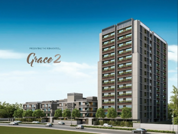 Grace 2 - 4 BHK Flats for Sale in Iscon Ambli Road, Ahmedabad