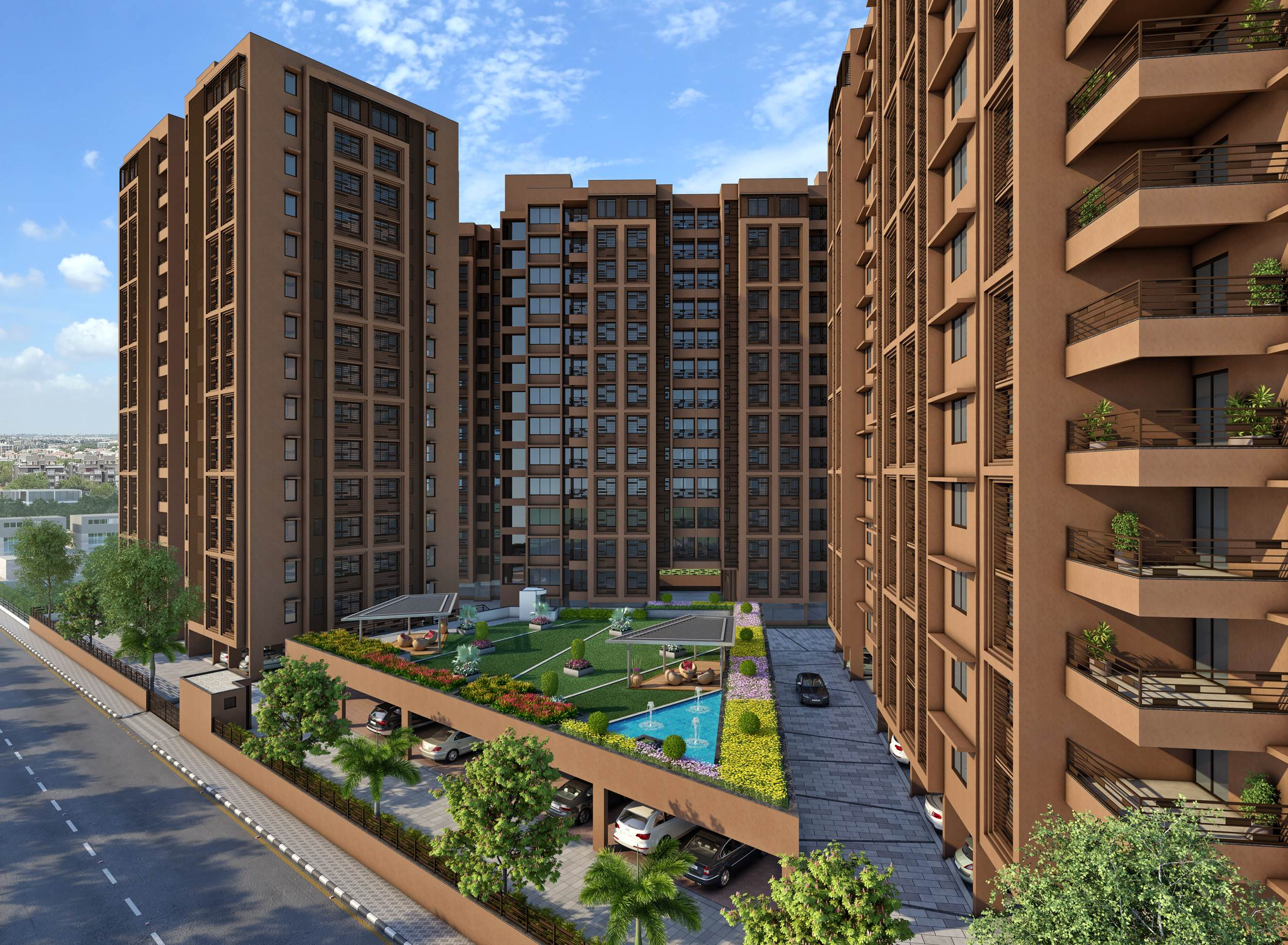 Pebble Bay 2 - 3 BHK Flats for Sale in Chandkheda, Ahmedabad