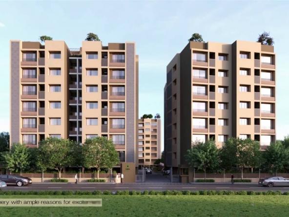Surya Emerald - 3 & 4 BHK Flats for Sale in Iscon Ambli Road, Ahmedabad