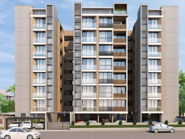 Vraj Oriana - 3 BHK Apartments for Sale in Prahlad Nagar, Ahmedabad