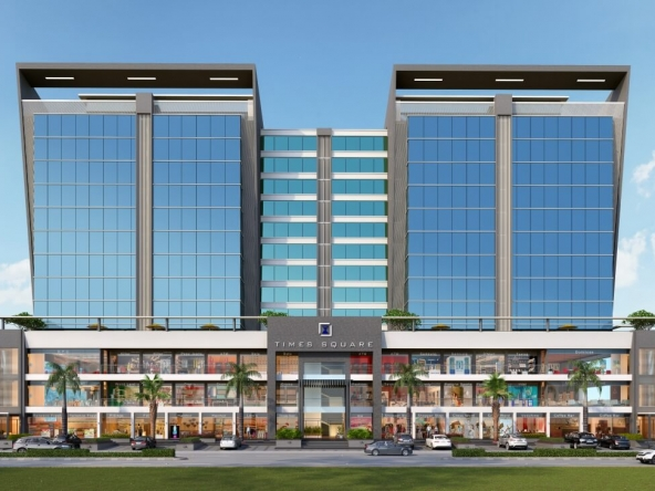 Time Square 1 - Office, Shop, Showroom on Rent in Thaltej, Ahmedabad, Gujarat