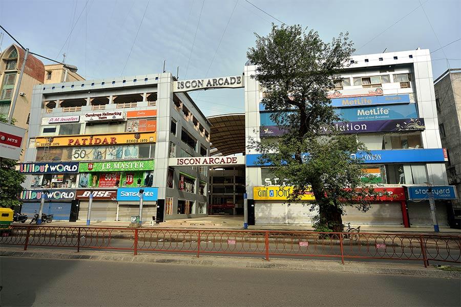 iscon-arcade commercial office CG road